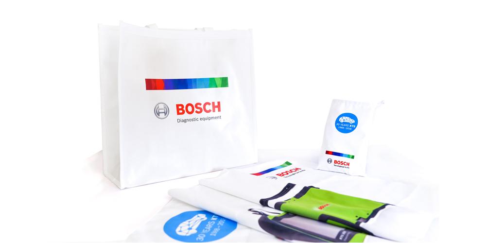 Gadget Bosch Shopper in TNT e Telo palestra