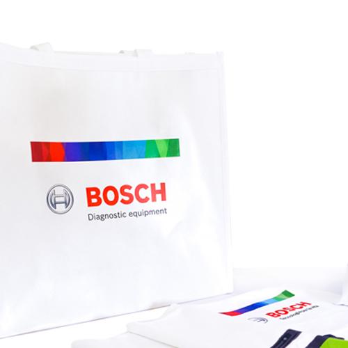 Bosch Telo palestra in microfibra e Pouch personalizzati