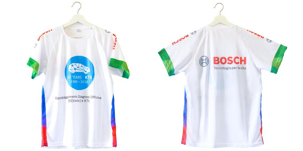 Bosch T-shirt Running traspirante